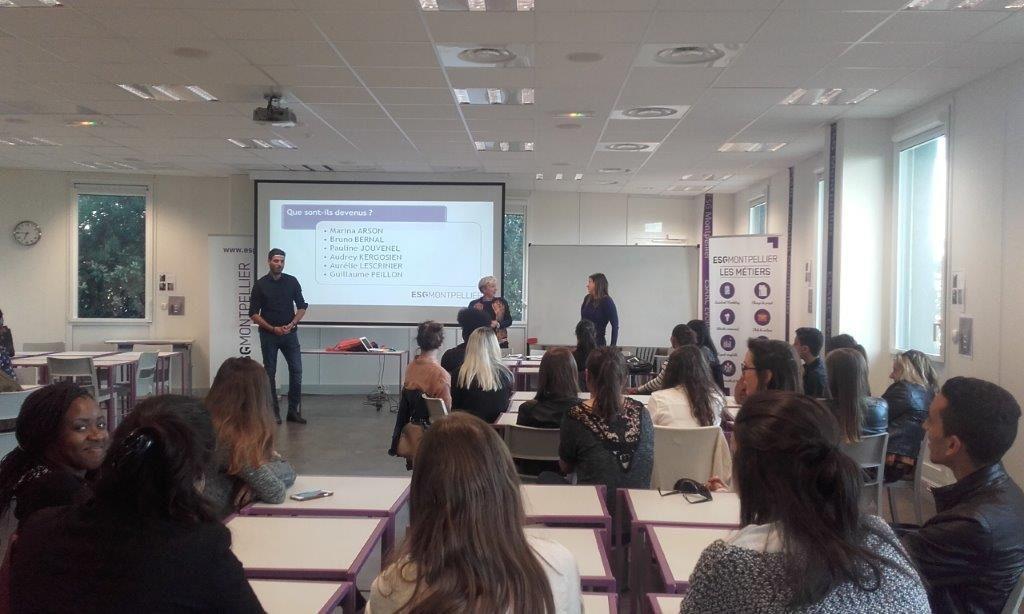 conférence finance - école de commerce, marketing & communication ESG Montpellier