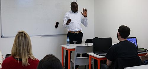 Mamadou Diouf, CEO-Fondateur de SensDigital