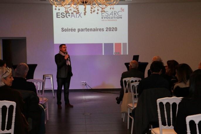 Soirée partenaires ESG Aix