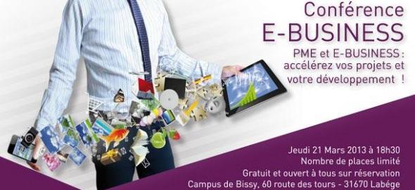 Conférence E-business de l'ESG Toulouse - 21 mars 2013