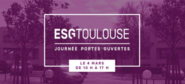 JPO - esg ecole de commerce toulouse