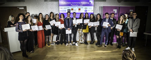 Remise de diplome Ecole Bordeaux