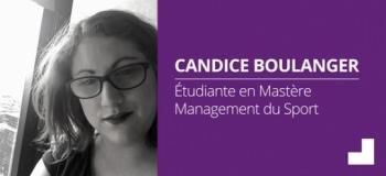 Candice - Mastère Management du sport