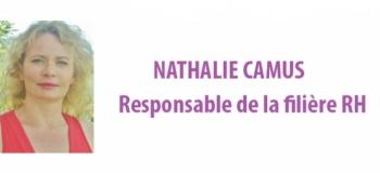 Responsable de la filière RH - Nathalie Camus