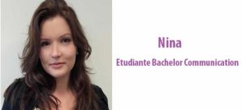 Nina - étudiante Bachelor Communication