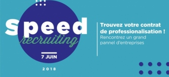 Speed Recruiting : offres d'alternance à l'ESG
