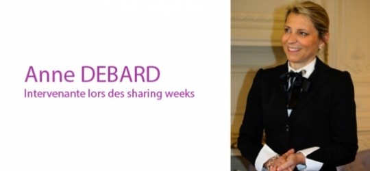 Interview Intervenants Sharing Weeks - Anne Debard