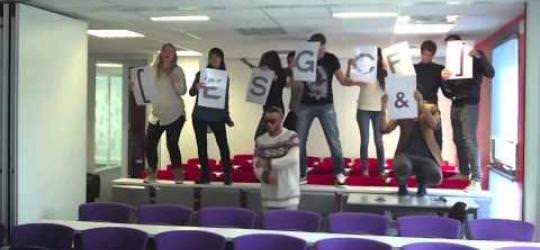 Flashmob - ESGC&F Rennes
