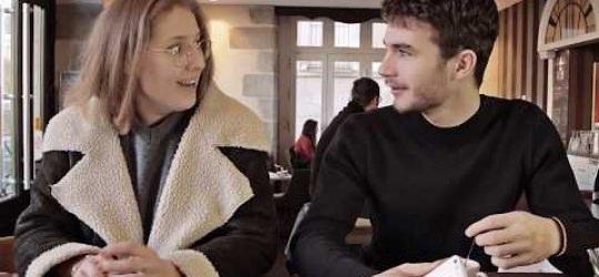 Quand deux amis se retrouvent et parlent de leurs études….à l'ESG Rennes