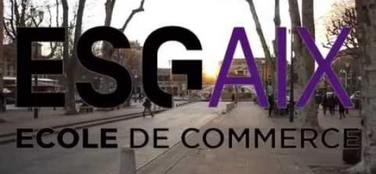 Présentation de l'ESG Aix - Ecole de commerce Aix