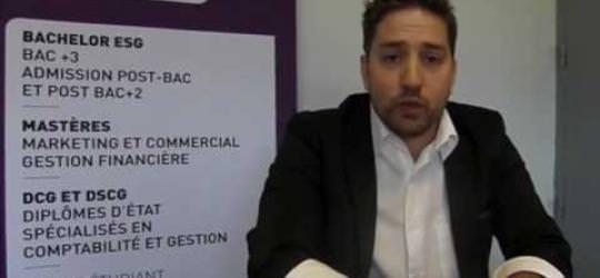 Interview de Laurent à propos des Négociales - ESGC&F Montpellier