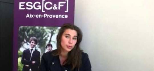 Margaux - L'ESGC&F d'Aix-en-Provence