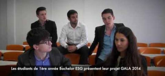 Projet Gala - ESGC&F Rennes