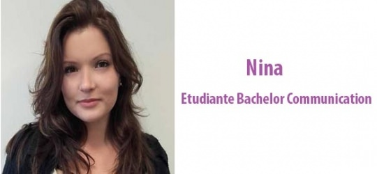 Nina - étudiante Bachelor Communication