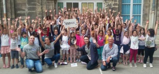 Journée sensibilisation alimentaire pour les Mastères