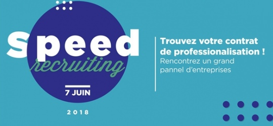 Speed Recruiting : offres d'alternance à l'ESG