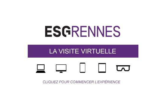 Ecole commerce Rennes - Visite Virtuelle