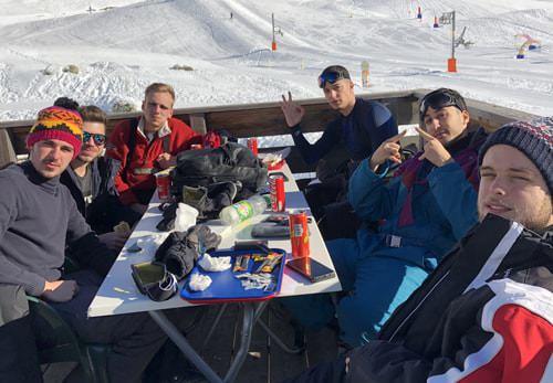 weekend ski école de commerce aix